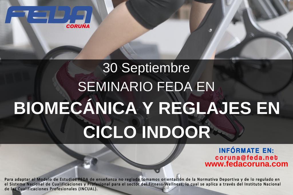 BIOMECÁNICA Y REGLAJES EN CICLO INDOOR 3009